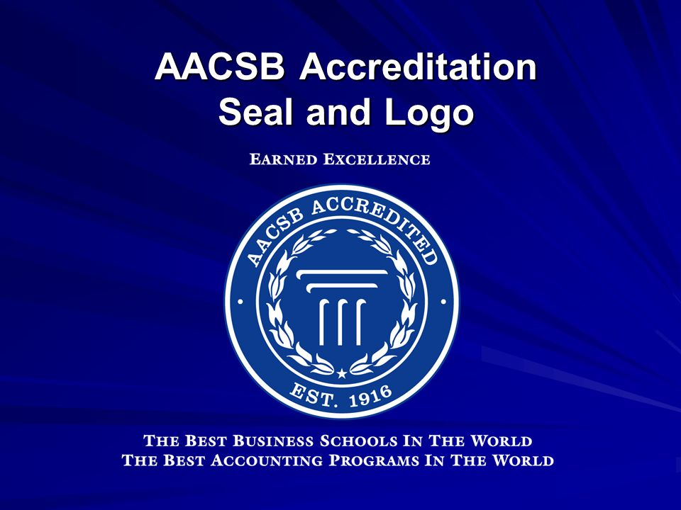 AACSB Accreditation Seal and Logo