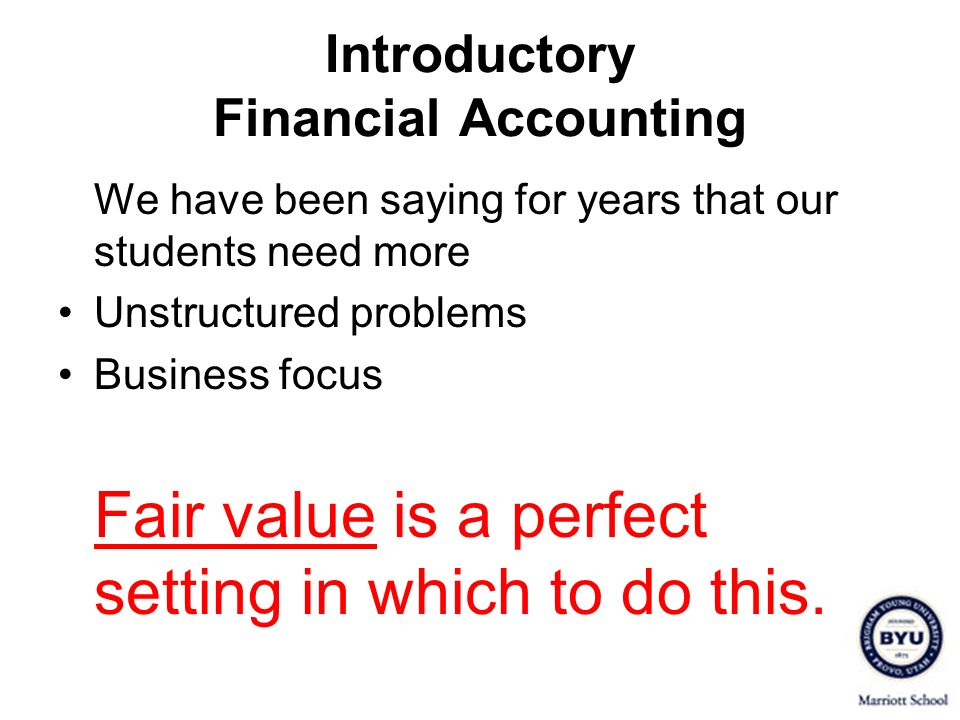 Introductory Financial Accounting Example A (page 5) – At What Amount Should Land Be Recorded.