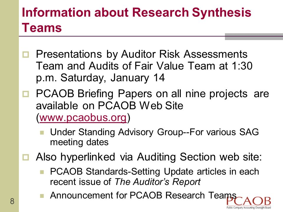9 Opportunities for Current Accounting Doctoral Students Related to current research synthesis projects Related to anticipated future research synthesis projects Other research opportunities (in critically important areas)