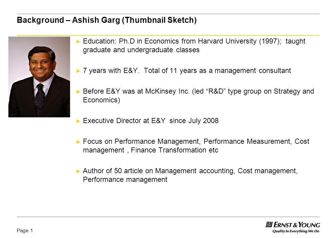 Innovation and Performance measurement Dr. Ashish Garg 9 January, 2009