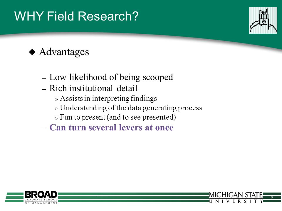 17 Doing Field Research Competent field researchers, like good cooks, acquire a significant amount of knowledge about their craft as a result of hands on experience, experimentation and adaptation in the field… (Baxter and Chua 1998) » Gaining access » Developing the study