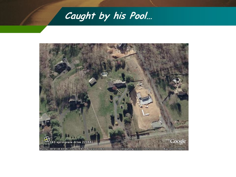 Caught by his Pool…