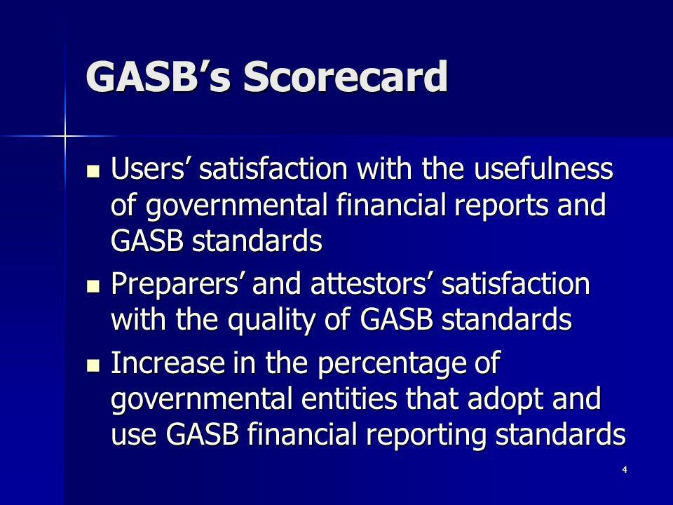 5 Recently Issued GASB Pronouncements
