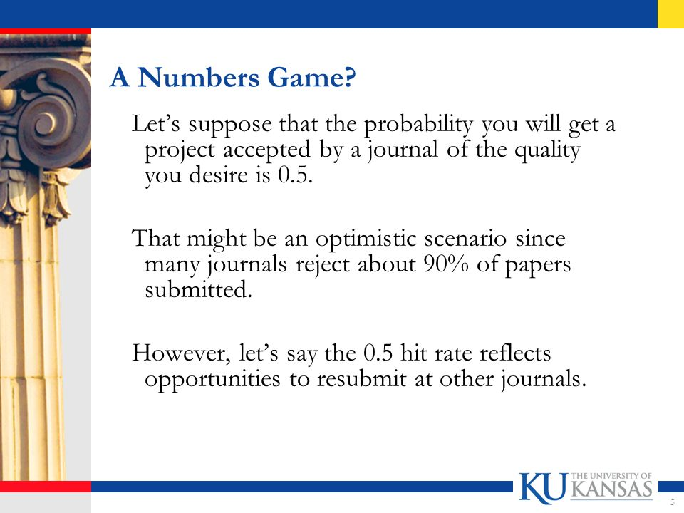 A Numbers Game.