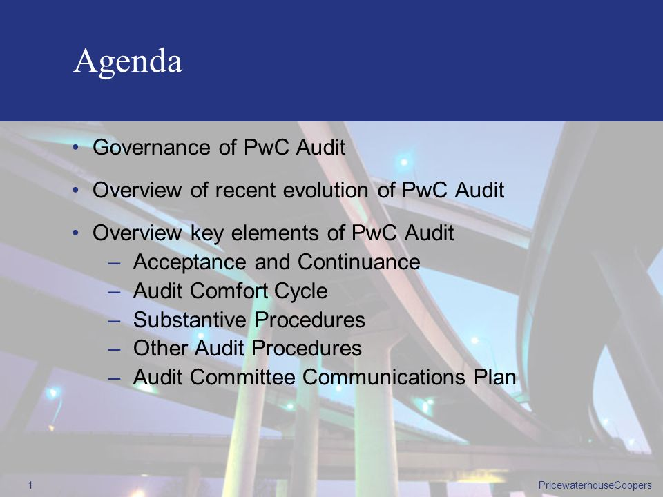 pwc The PwC Audit A Continuous Improvement Approach to Audit Methodology A Continuous Improvement Approach to Audit Methodology
