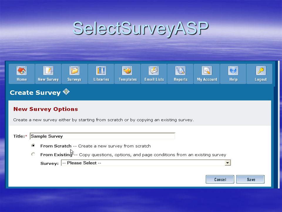 SelectSurveyASP