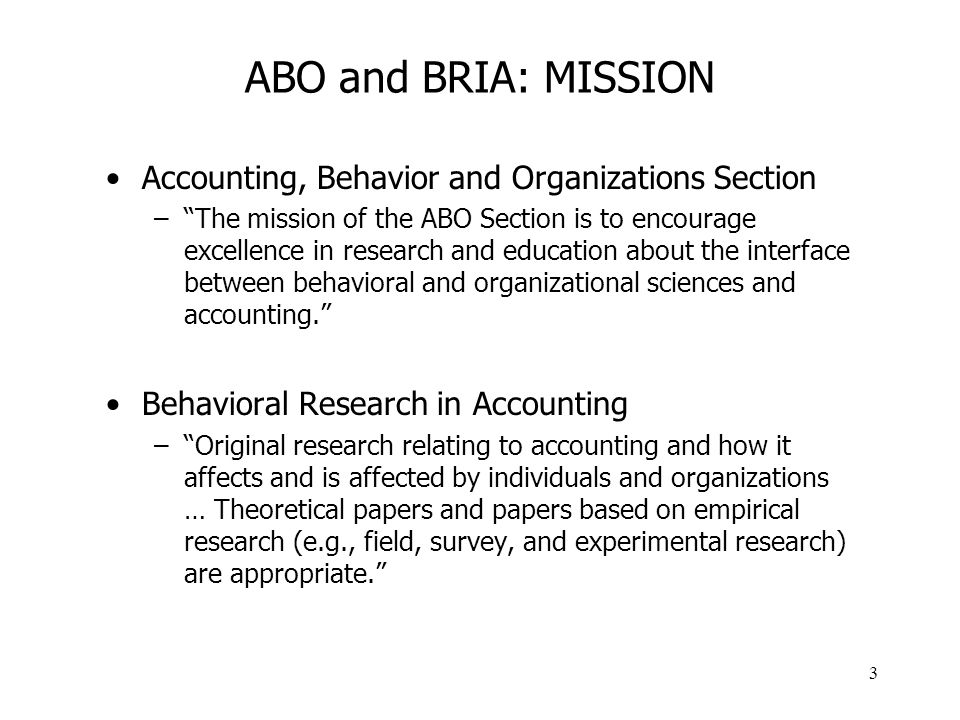 4 WHAT IS BEHAVIORAL SCIENCE.