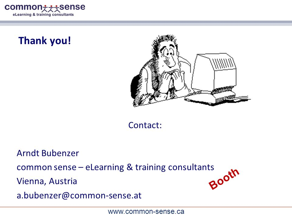 www.common-sense.ca Thank you.