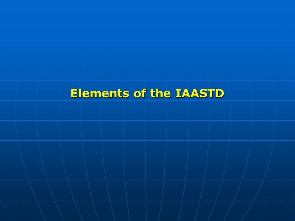 Elements of the IAASTD