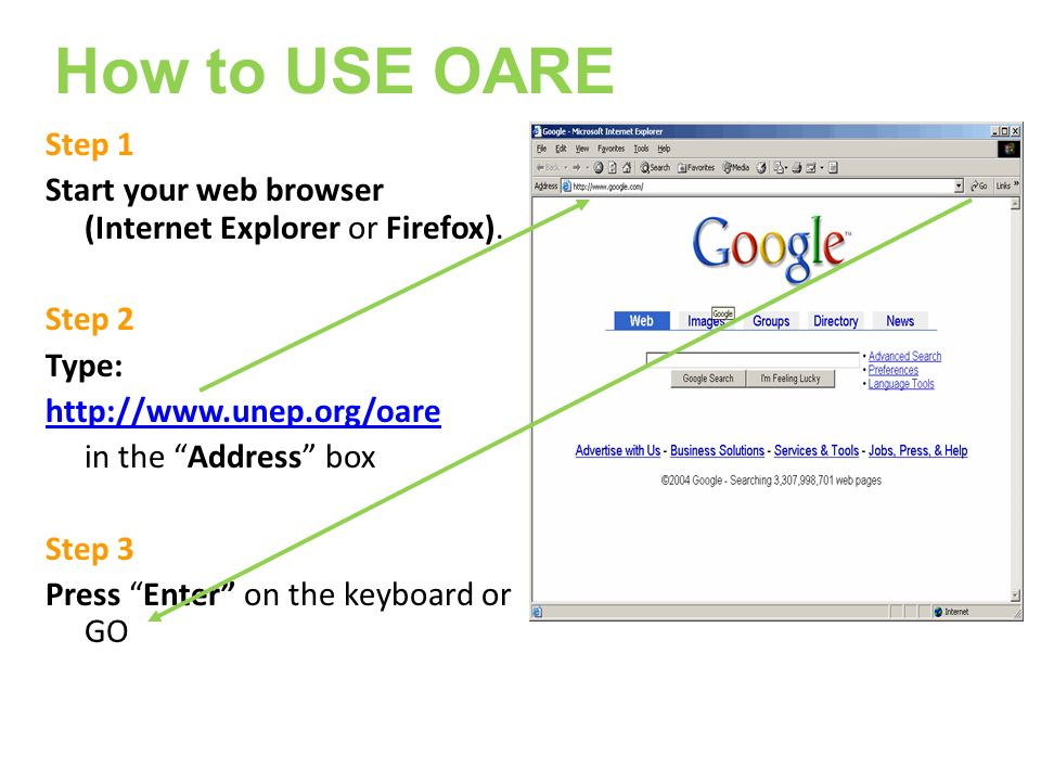 Step 1 Start your web browser (Internet Explorer or Firefox).