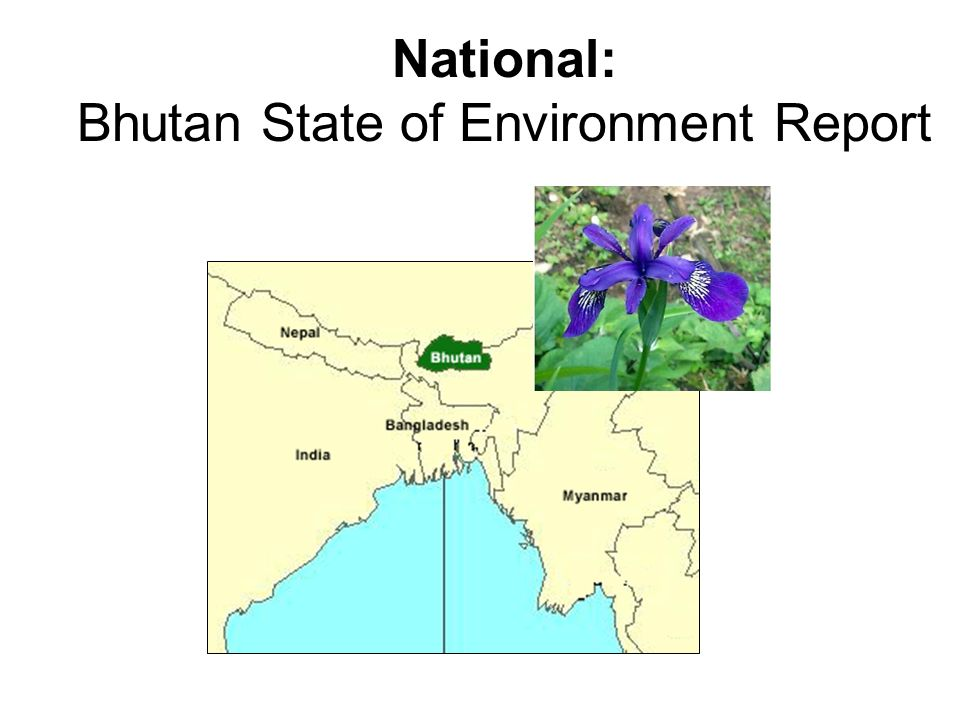 National: Bhutan State of Environment Report