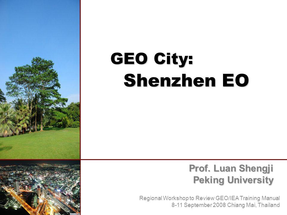 GEO City: Shenzhen EO Prof.