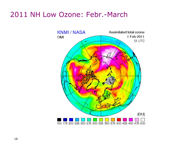 18 2011 NH Low Ozone: Febr.-March