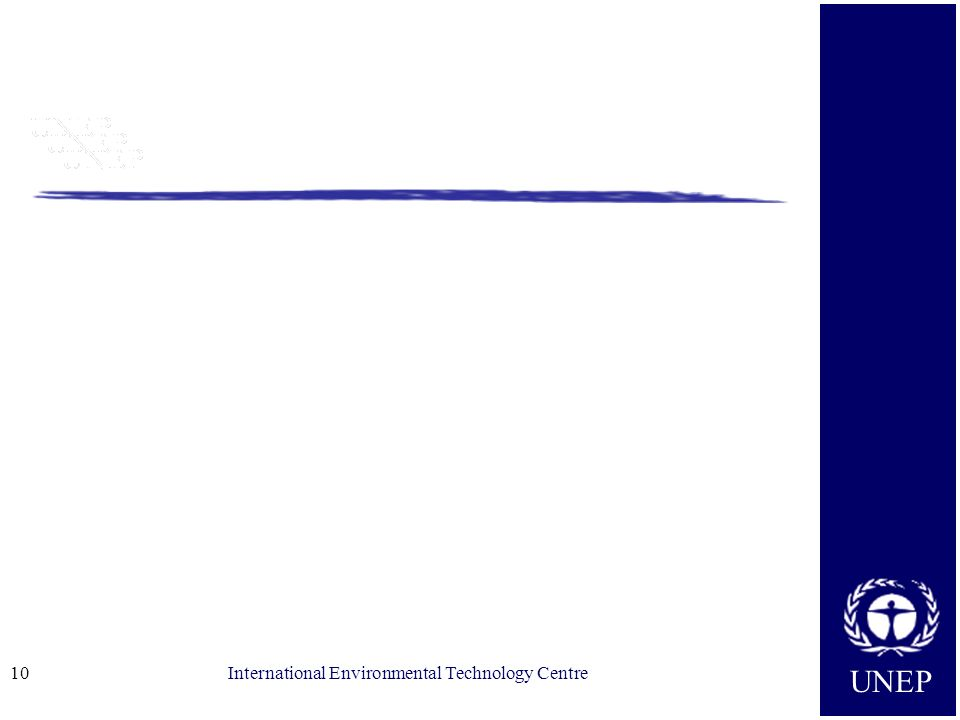 UNEP International Environmental Technology Centre10