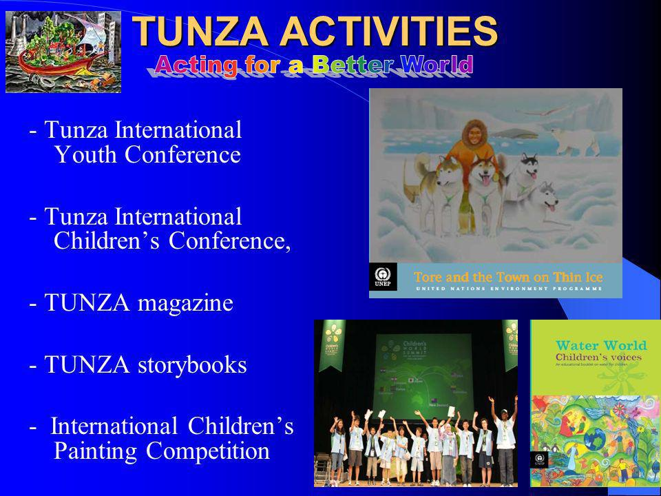 WHAT IS TUNZA.