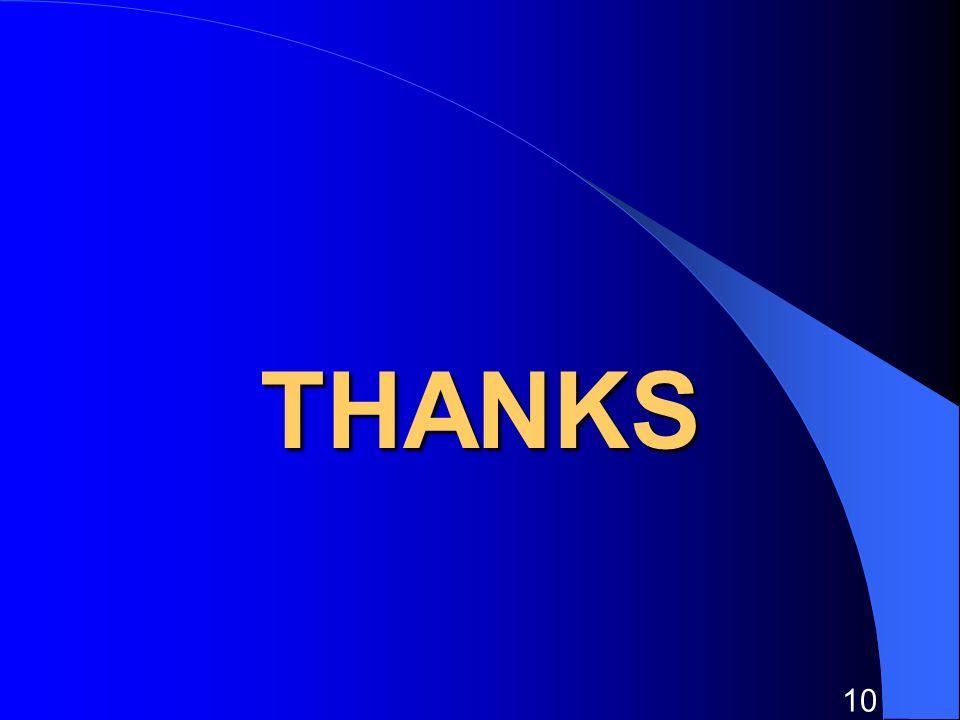 10 THANKS