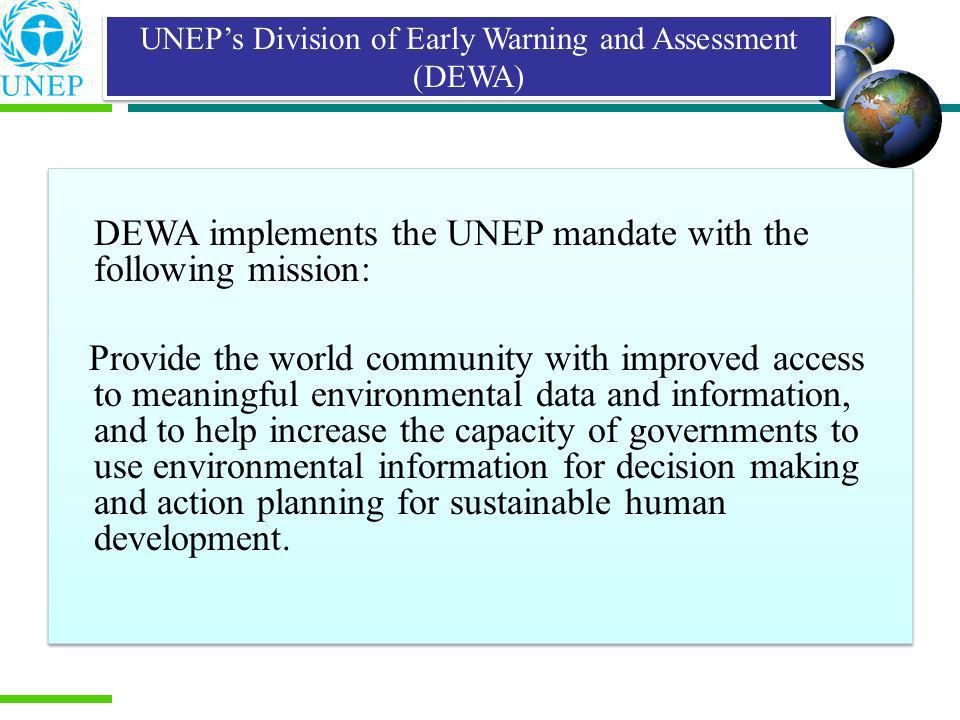 Prepared in response to the recommendations of Agenda 21 Initiated by UNEP in association with the South Asia Co- operative Environment Programme and the Royal Government of Bhutan Financial support from Norwegian Agency for Development Co-operation National Environment Council (NEC) of the Bhutan government was the focal agency The Energy and Resources Institute (TERI) in India, a UNEP collaborating centre, provided technical support Report launched in 2001 Lebanon State of Environment Report Mandate