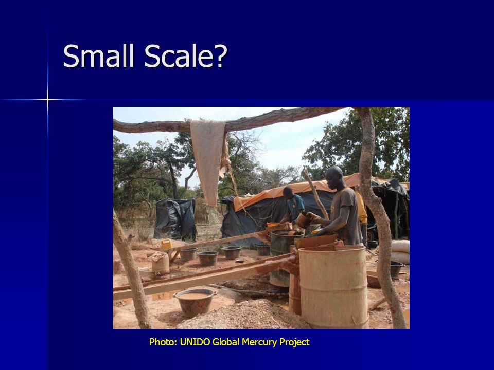Small Scale Photo: UNIDO Global Mercury Project