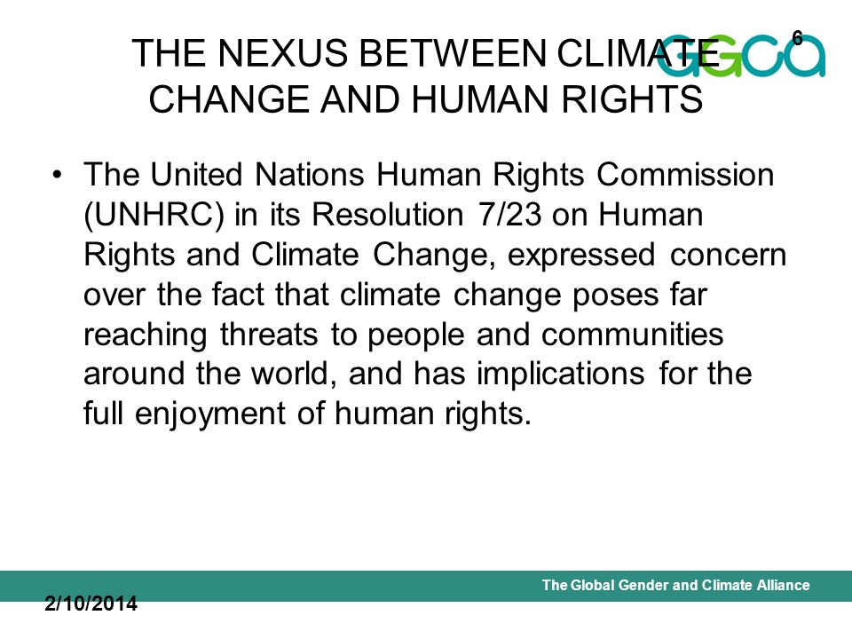 International Union for Conservation of Nature - Office of the Senior Gender AdviserThe Global Gender and Climate Alliance Strategic objective K.1.