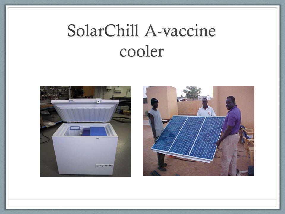 SolarChill A-vaccine cooler