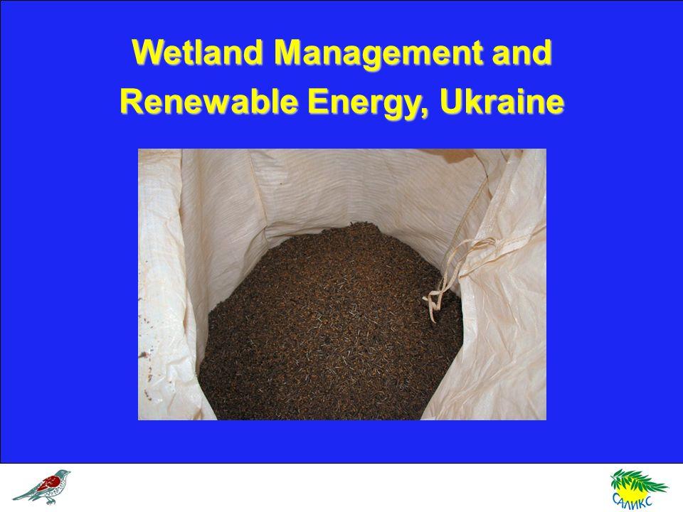Wetland Management and Renewable Energy, Ukraine