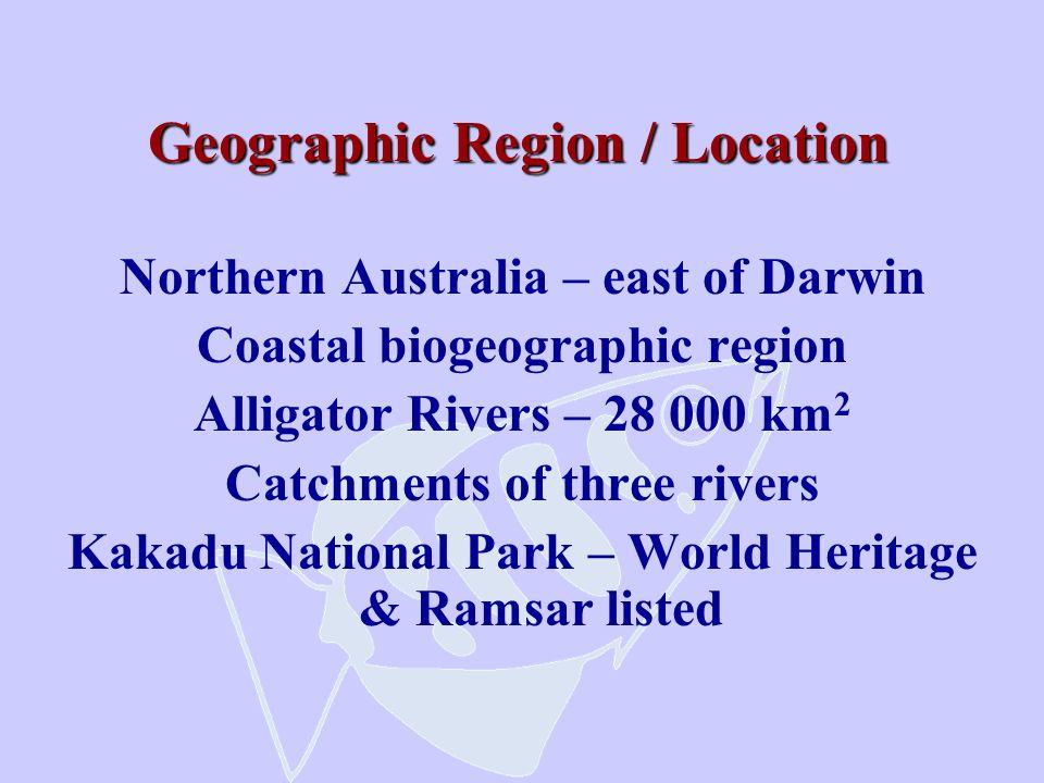 Geographic Region / Location