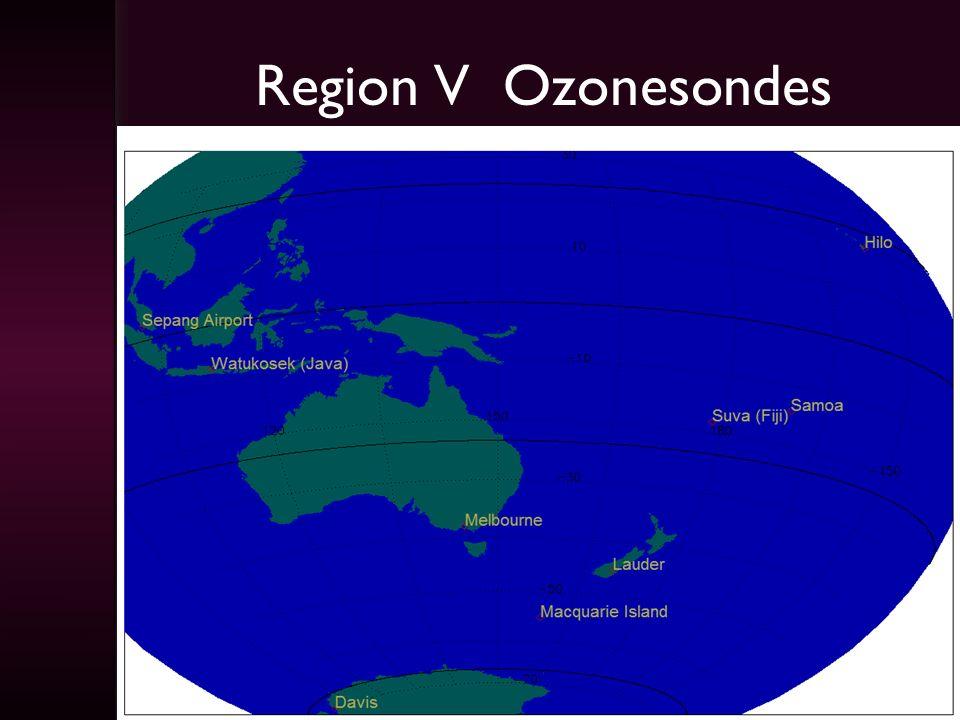 Region V Ozonesondes