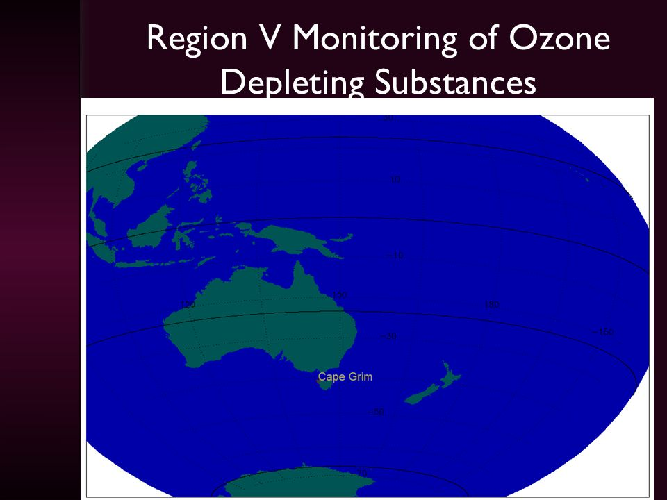 Region V Monitoring of Ozone Depleting Substances
