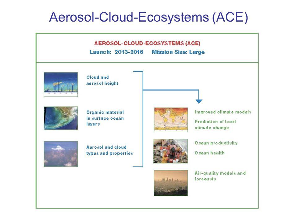 Aerosol-Cloud-Ecosystems (ACE)