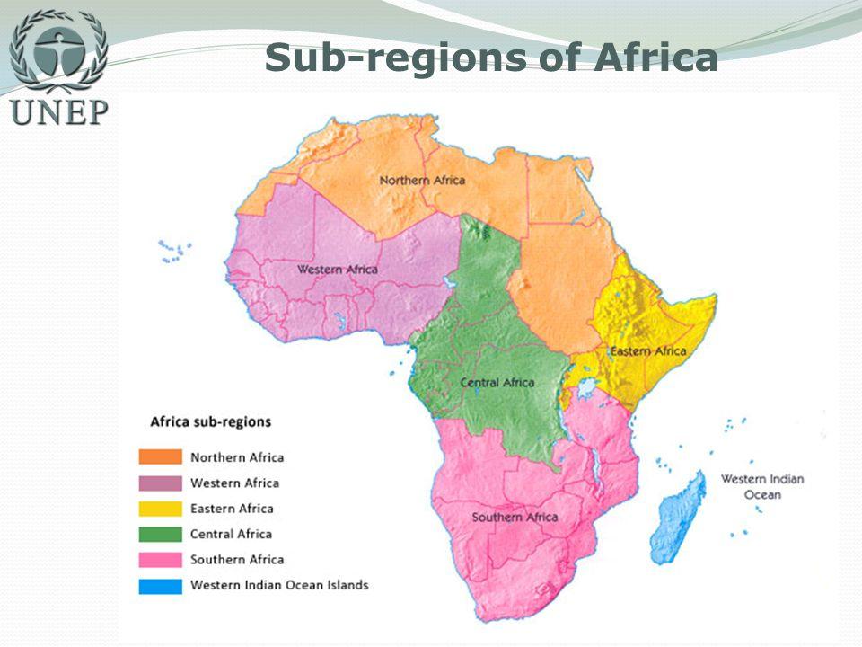 Sub-regions of Africa
