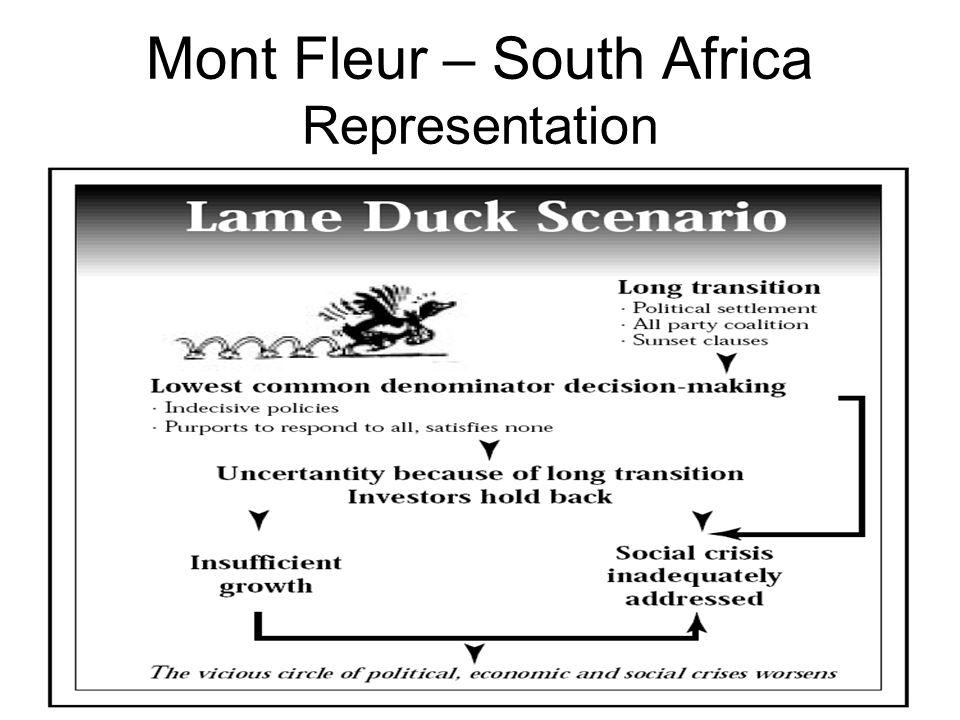 Mont Fleur – South Africa Representation