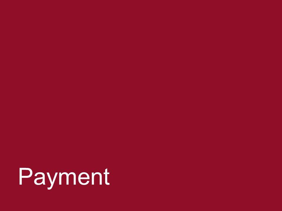 Negotiating ERPAs 45 Payment