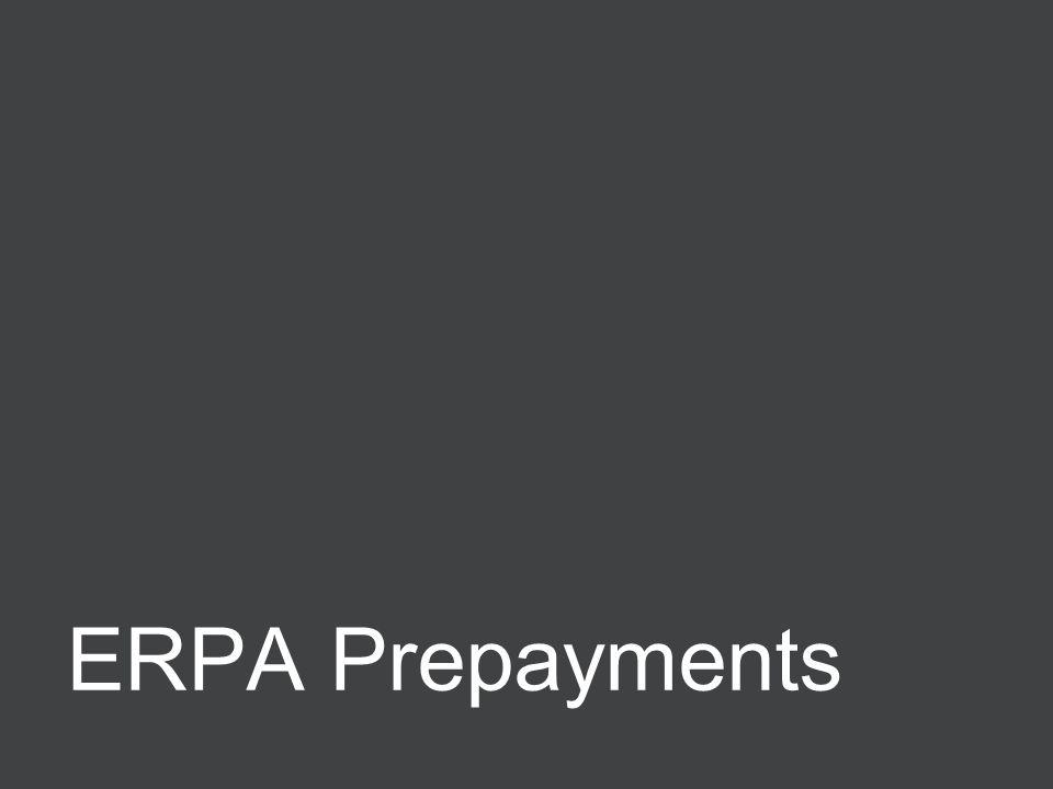 Negotiating ERPAs 48 ERPA Prepayments