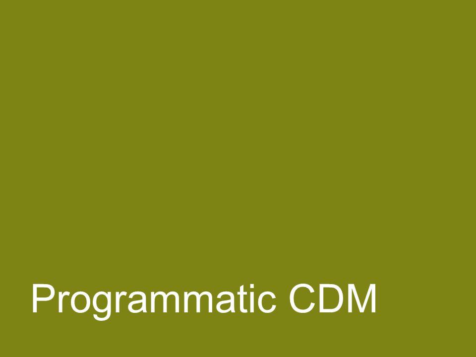 Negotiating ERPAs 56 Programmatic CDM