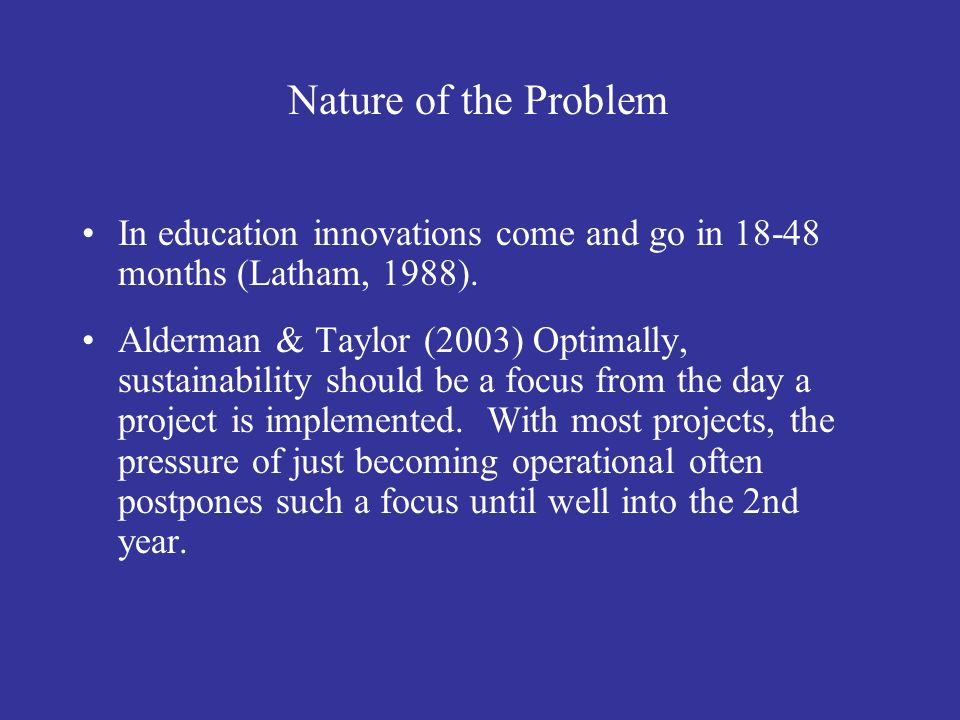 References Alderman, H.S. & Taylor, L. (2003).