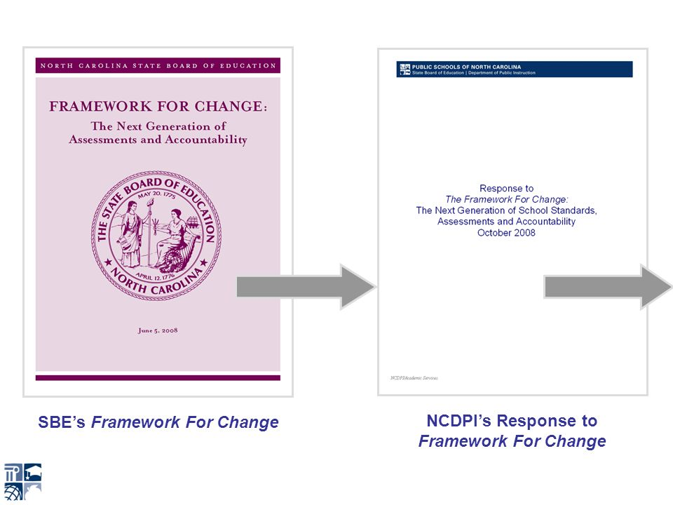 SBEs Framework For Change NCDPIs Response to Framework For Change