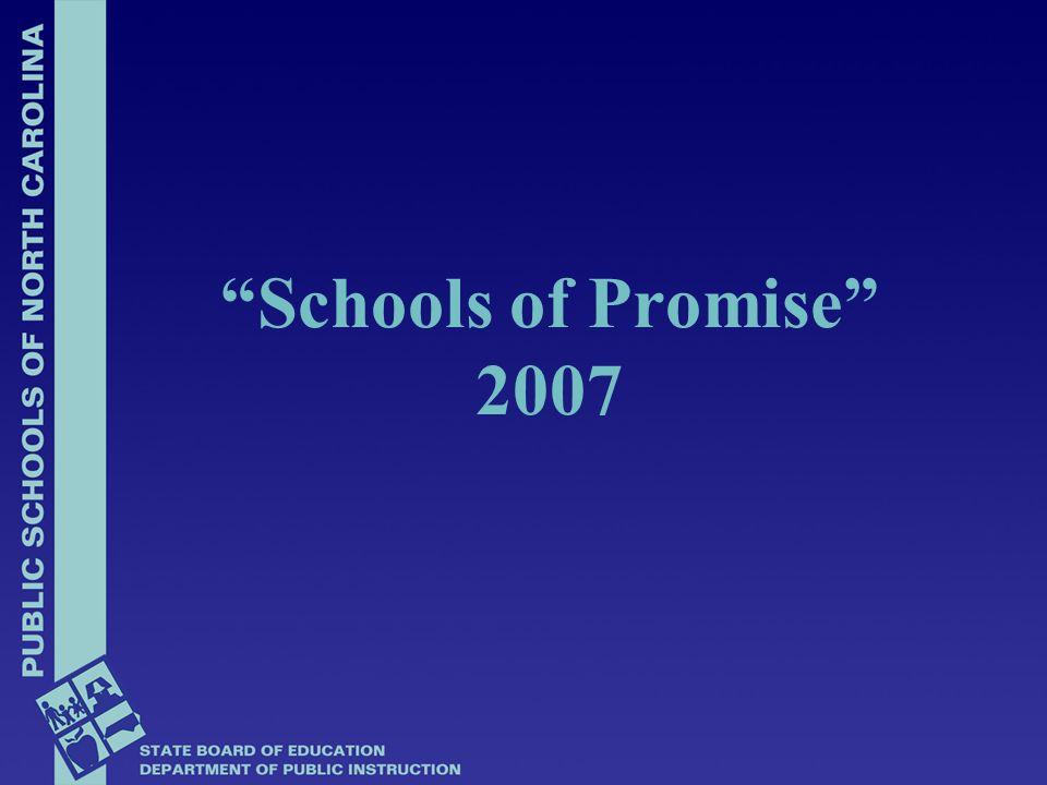 Schools of Promise 2007