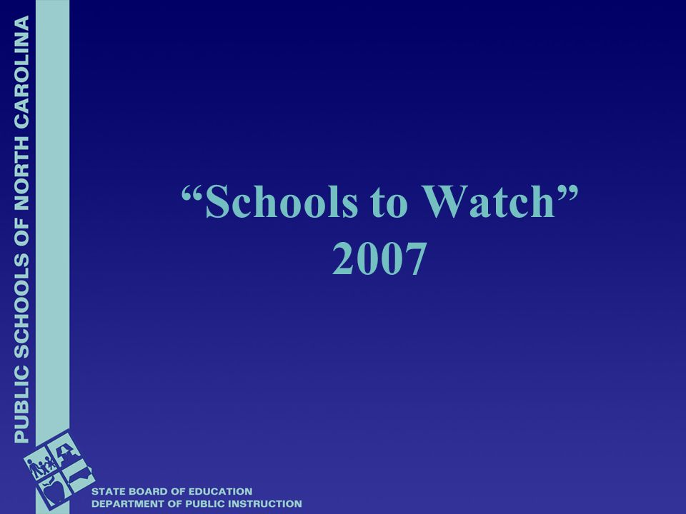 Buncombe Community School – Buncombe Co School to Watch Award