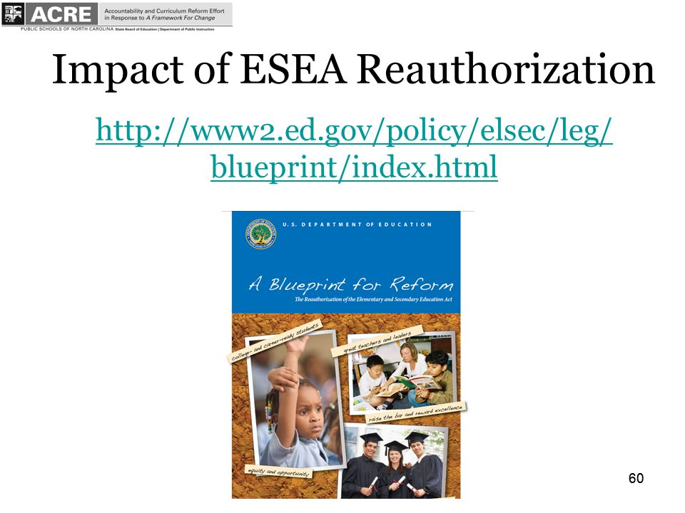 60 Impact of ESEA Reauthorization   blueprint/index.html   blueprint/index.html