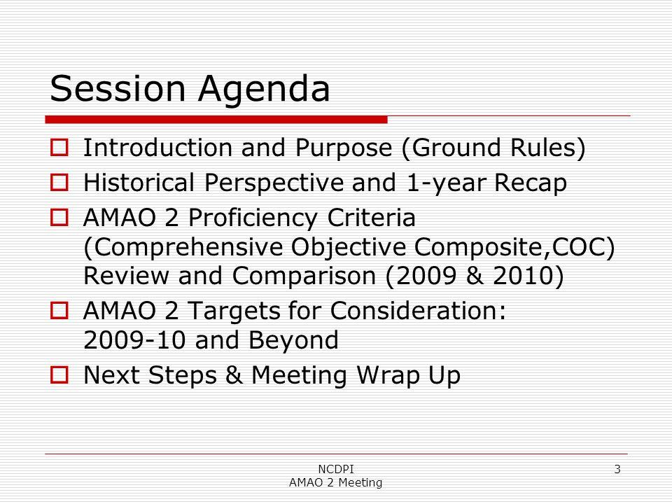 14 Reading to ACCESS: 2009 NCDPI AMAO 2 Meeting