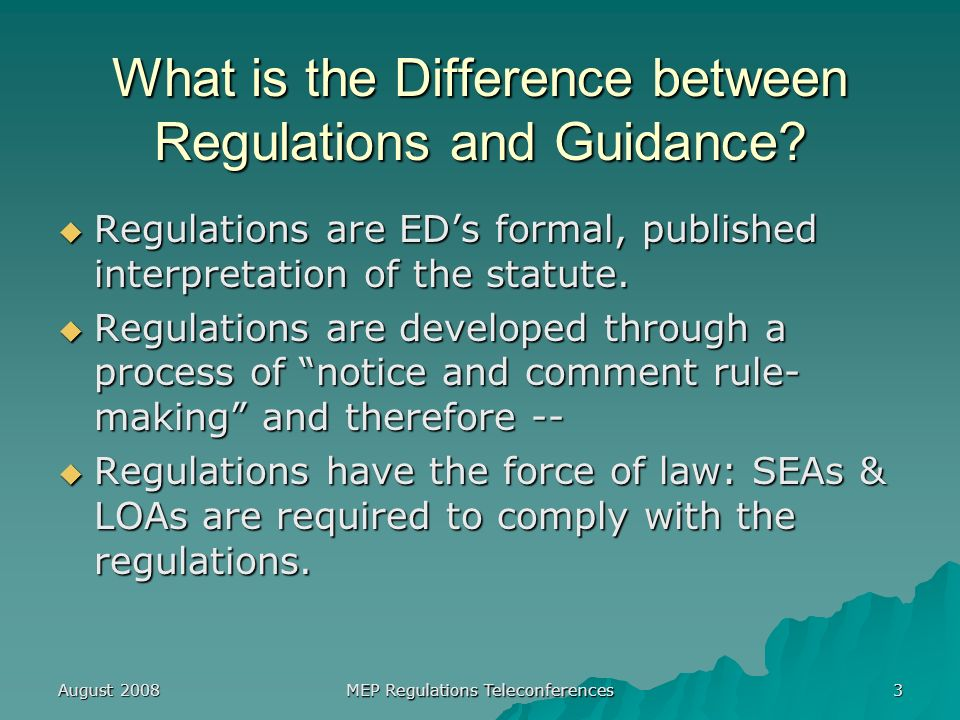 August 2008 MEP Regulations Teleconferences 34 Move or Moved (cont.) § 200.81(g), Preamble pp.