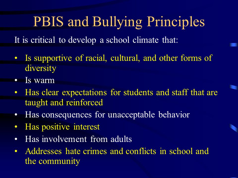 Most bully prevention programs focus on the bully and the victim Problem #1: Inadvertent teaching of bullying Problem #2: Blame the bully Problem #3: Ignore role of bystanders Problem #4: Initial effects without sustained impact.
