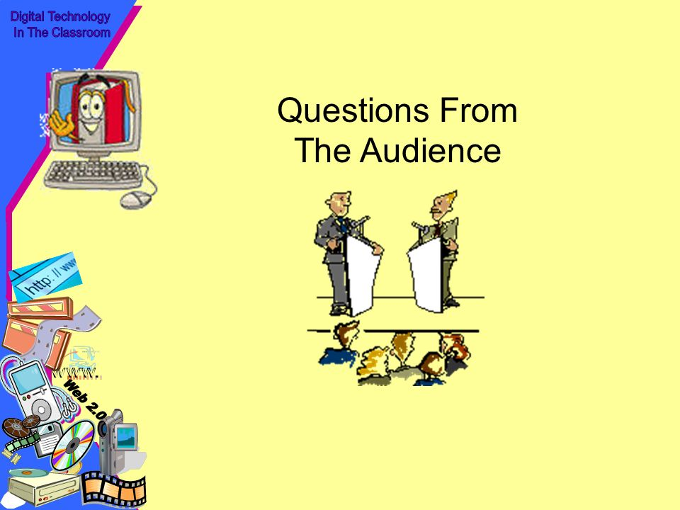 Questions From The Audience