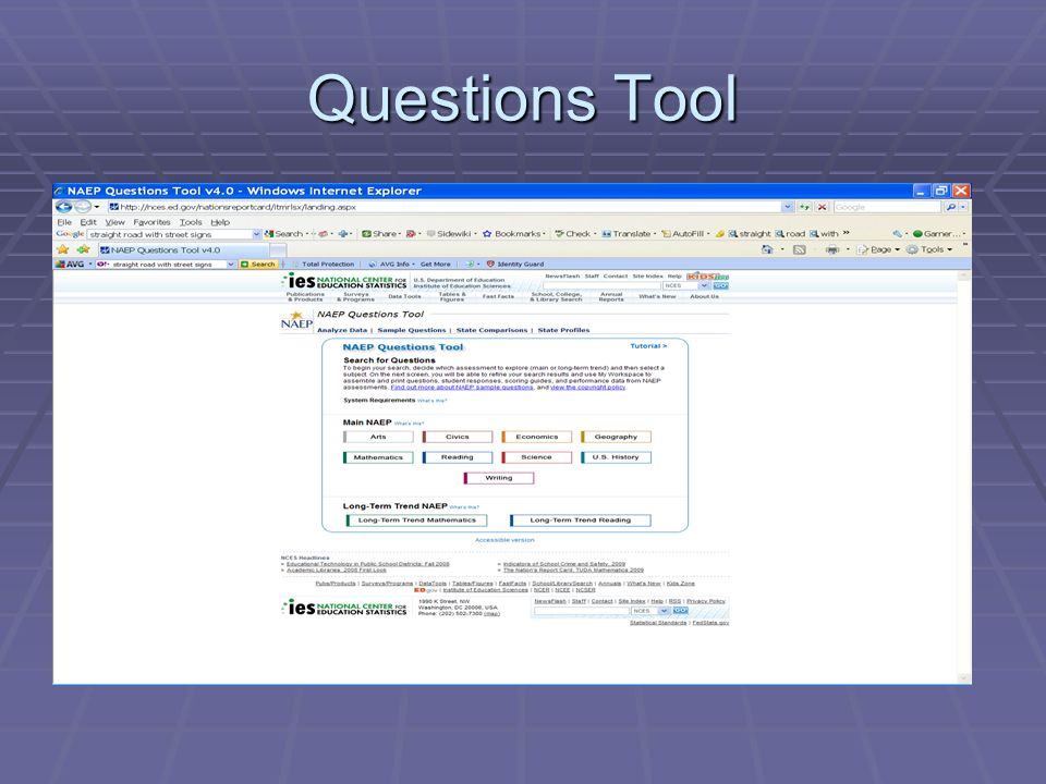 Questions Tool