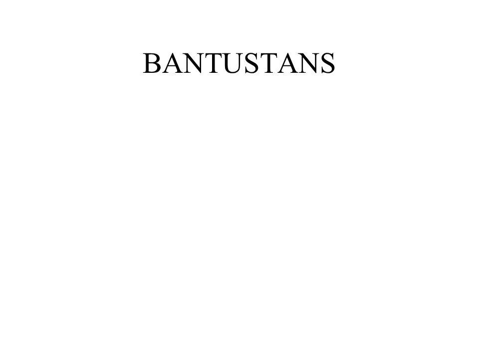 BANTUSTANS