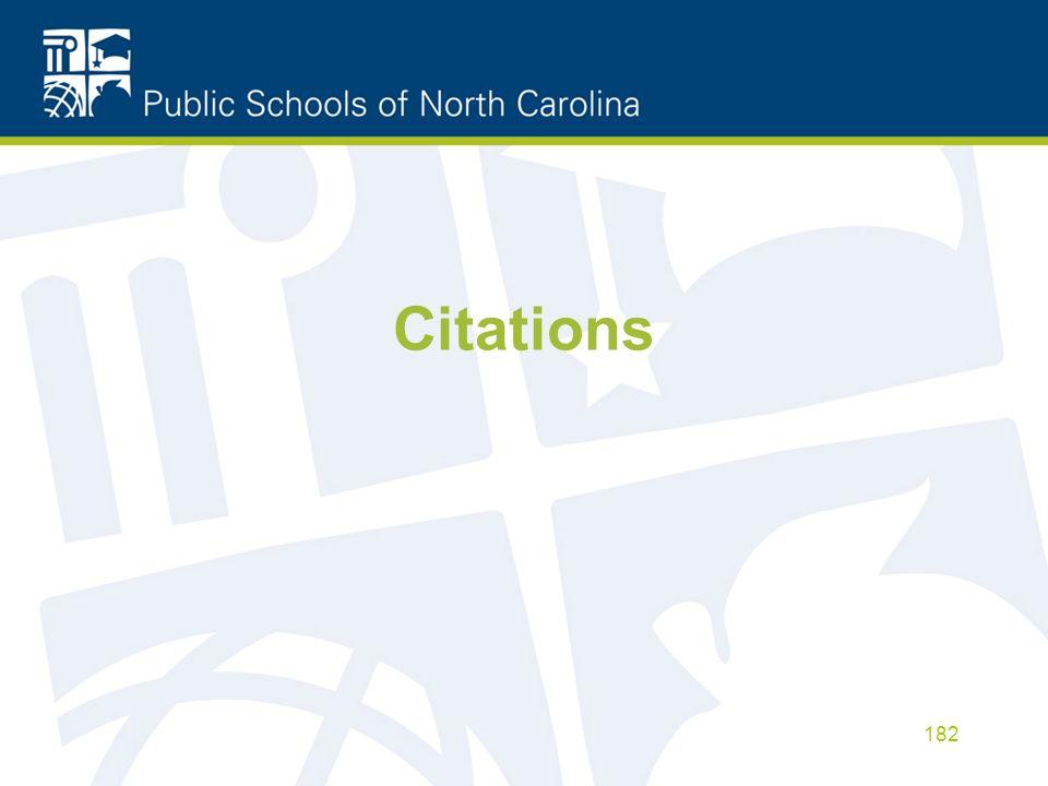 Citations 182