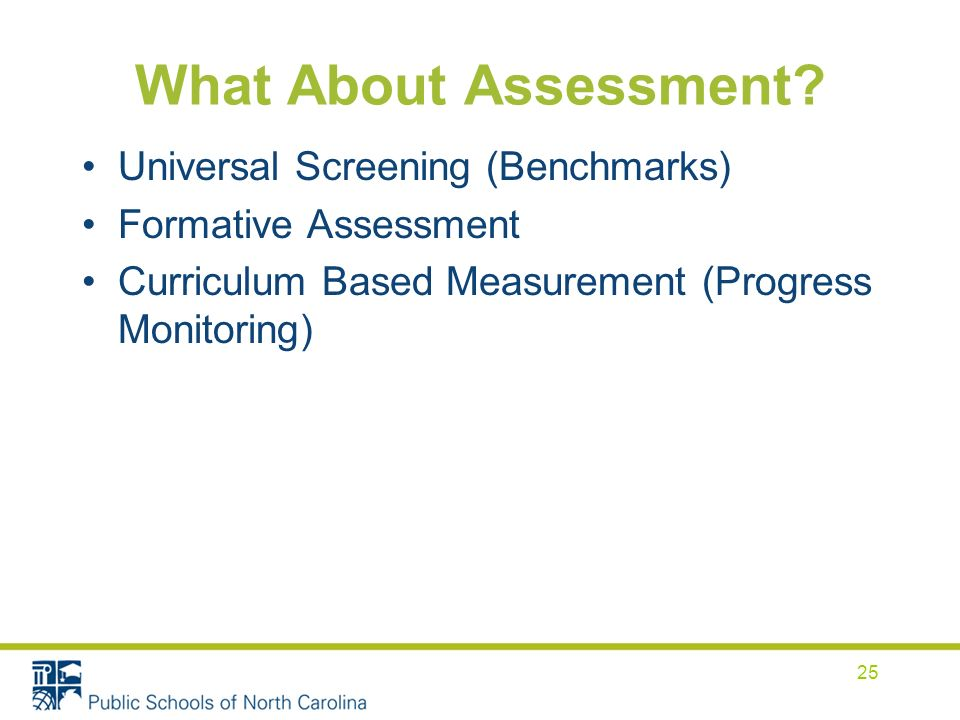What About Assessment.