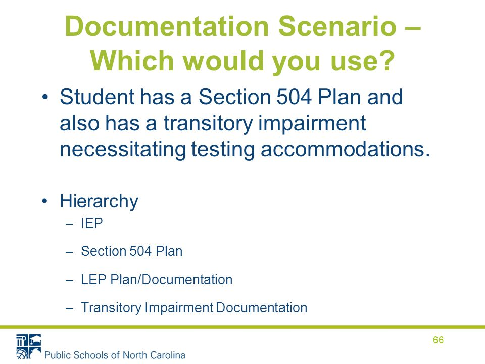 Documentation Scenario – Which would you use.