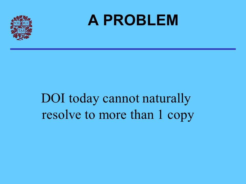 Any old system Citation DOI Step 1 Step 2 DOI Resolver DOI Search response PROTOTYPE ARCHITECTURE CLICK DOI SERVER: Does user have localization.