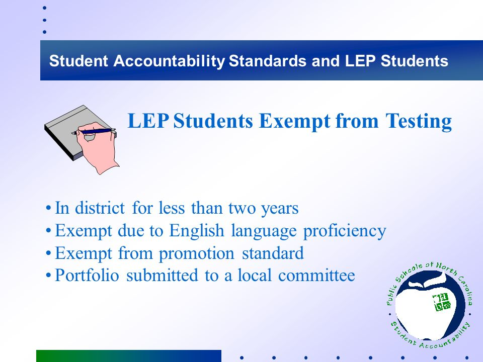 Any student whose primary language is not English and Who is insufficiently proficient in the English language to receive instruction exclusively from regular educational programs and function on an academic par with his/her peers Limited English Proficient Student